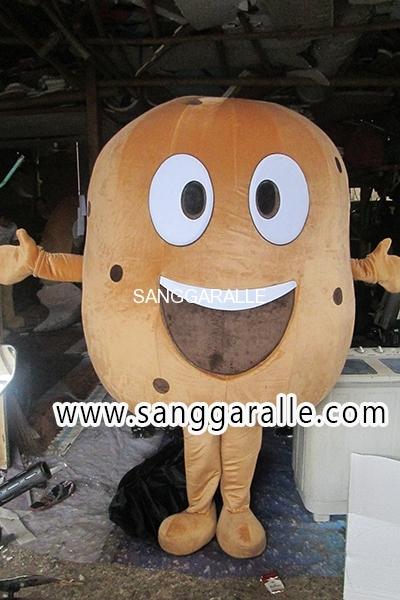Kostum Maskot Perusahaan Pertanian