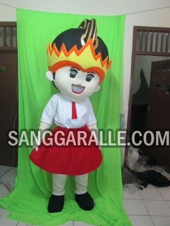 Jasa pembuatan kostum maskot GNI