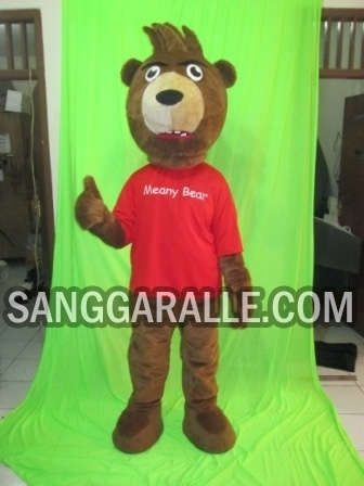 Jasa pembuatan kostum maskot Meany Bear