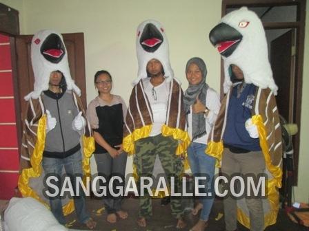 Jasa pembuatan kostum maskot Akmil