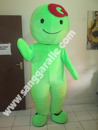 Jasa pembuatan kostum maskot Qoo10