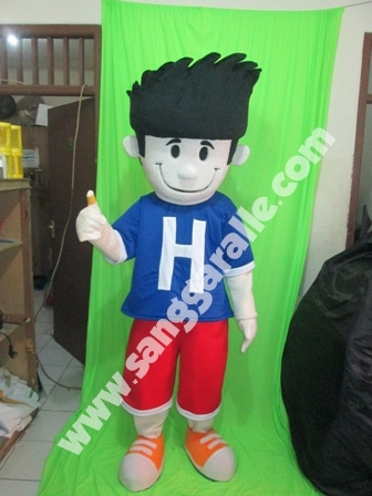 Jasa pembuatan kostum maskot Hansaplast
