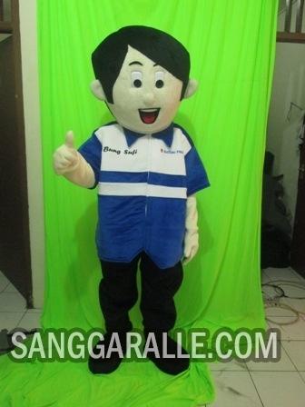 Jasa pembuatan kostum maskot Suzuki Finance