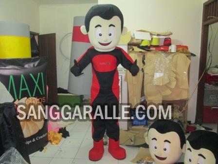 Jasa pembuatan kostum maskot Alfalink