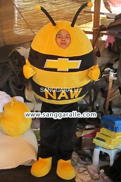 Kostum Maskot Perusahaan NAW