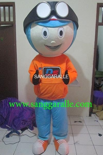 Kostum Maskot Perusahaan MS