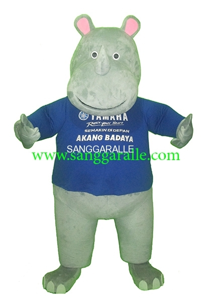 Kostum Maskot Perusahaan Novotel