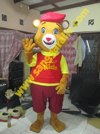 Jasa pembuatan kostum maskot Bodrexin