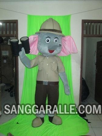 Jasa pembuatan kostum maskot Royal Safari Garden