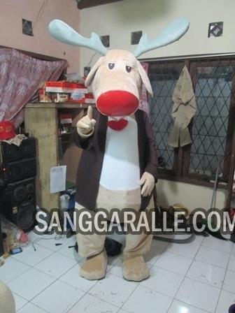 Jasa pembuatan kostum maskot Rusa