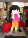 Menerima pembuatan kostum kartun Dora