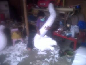 Jasa Patung Styrofoam