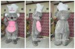 Kostum Maskot Perusahaan DOMINO CAKE