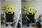 Kostum MAskot Perusahaan SUN LIFE FINANCIAL