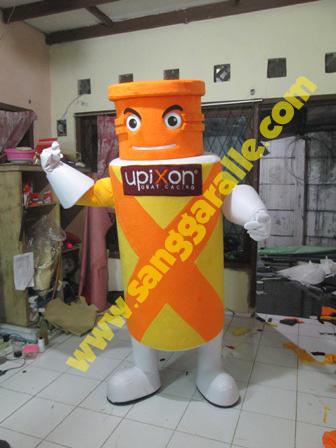 Jasa pembuatan kostum maskot Upixon