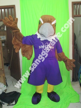 Jasa pembuatan kostum maskot Elang Mercure