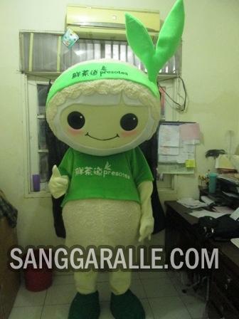 Jasa pembuatan kostum maskot Presotea
