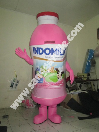 Jasa pembuatan kostum maskot Indomilk