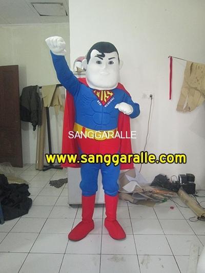 Kostum Maskot Perusahaan Superhero 1