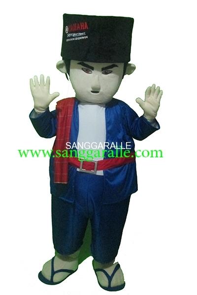 Kostum Maskot Perusahaan Yamaha Si Pitung