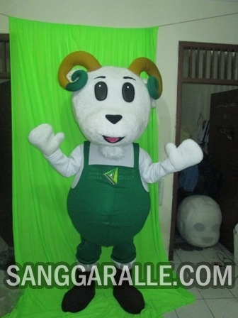 Jasa pembuatan kostum maskot Kambing Dhuafa