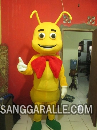 Jasa pembuatan kostum maskot Semut