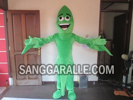 Jasa pembuatan kostum maskot Pucuk Daun Teh