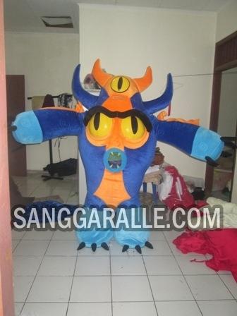 Jasa pembuatan kostum maskot Fredzilla