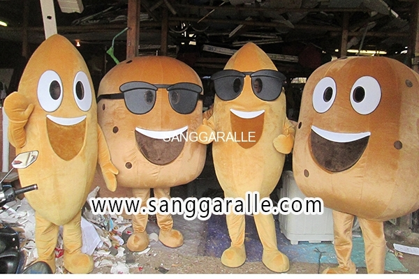 Kostum Maskot Perusahaan Pertanian 2