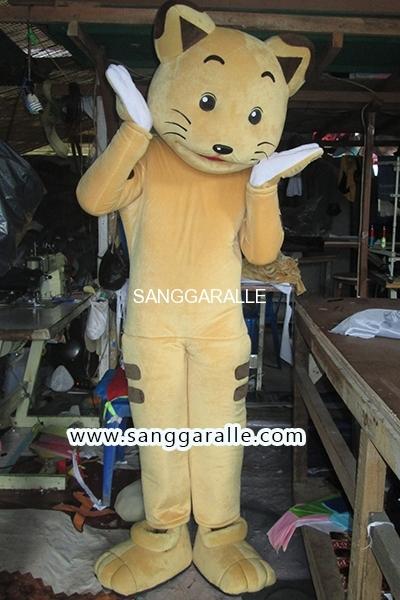 Kostum Maskot Perusahaan Cat 2