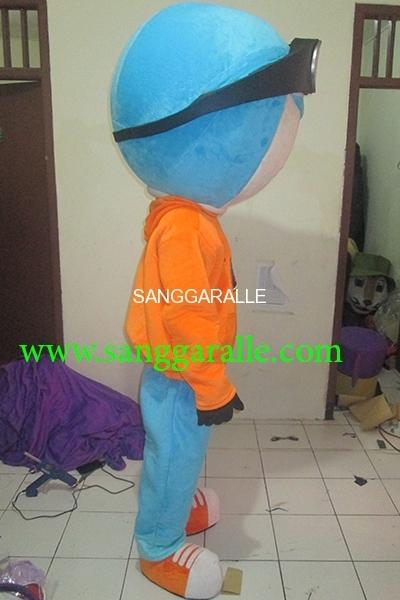 Kostum Maskot Perusahaan MS1