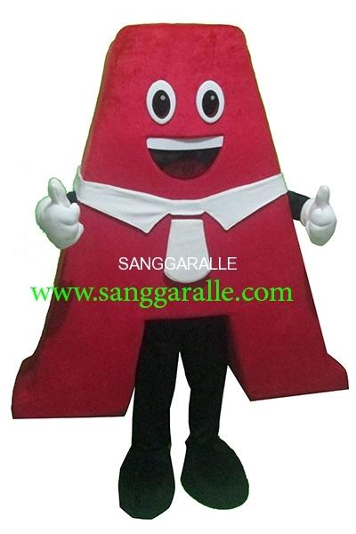 Kostum Maskot Perusahaan A