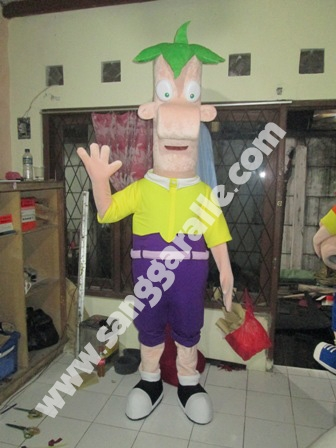 Jasa pembuatan kostum maskot Ferb