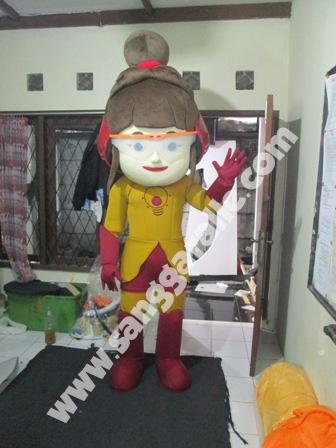 Jasa pembuatan kostum maskot Vidoran