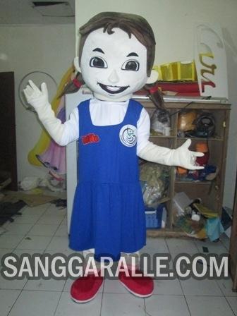 Jasa pembuatan kostum maskot Mila KKP