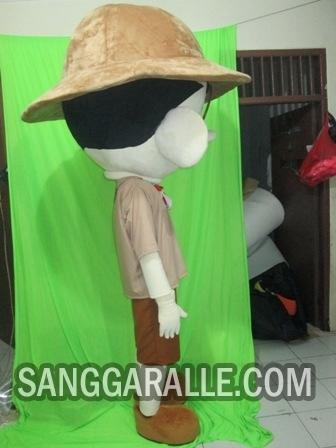 Jasa pembuatan kostum maskot Aacim