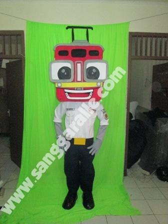 Jasa pembuatan kostum maskot Karel