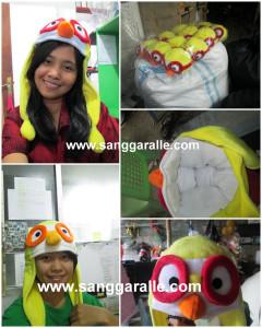 Topi karakter untuk anak