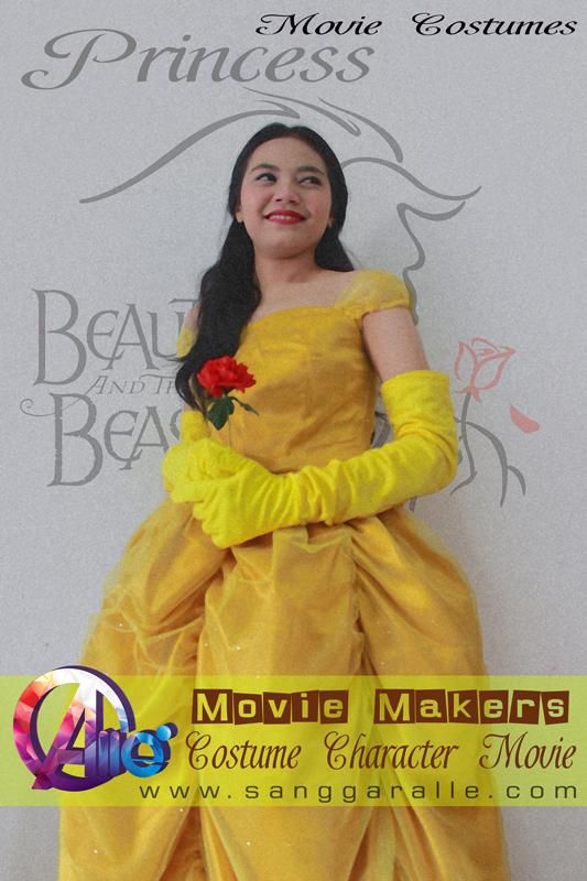Sewa Kostum Princess