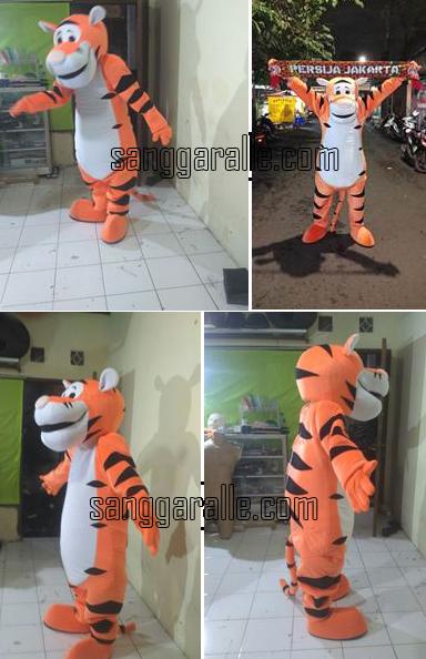 badut maskot Tiger