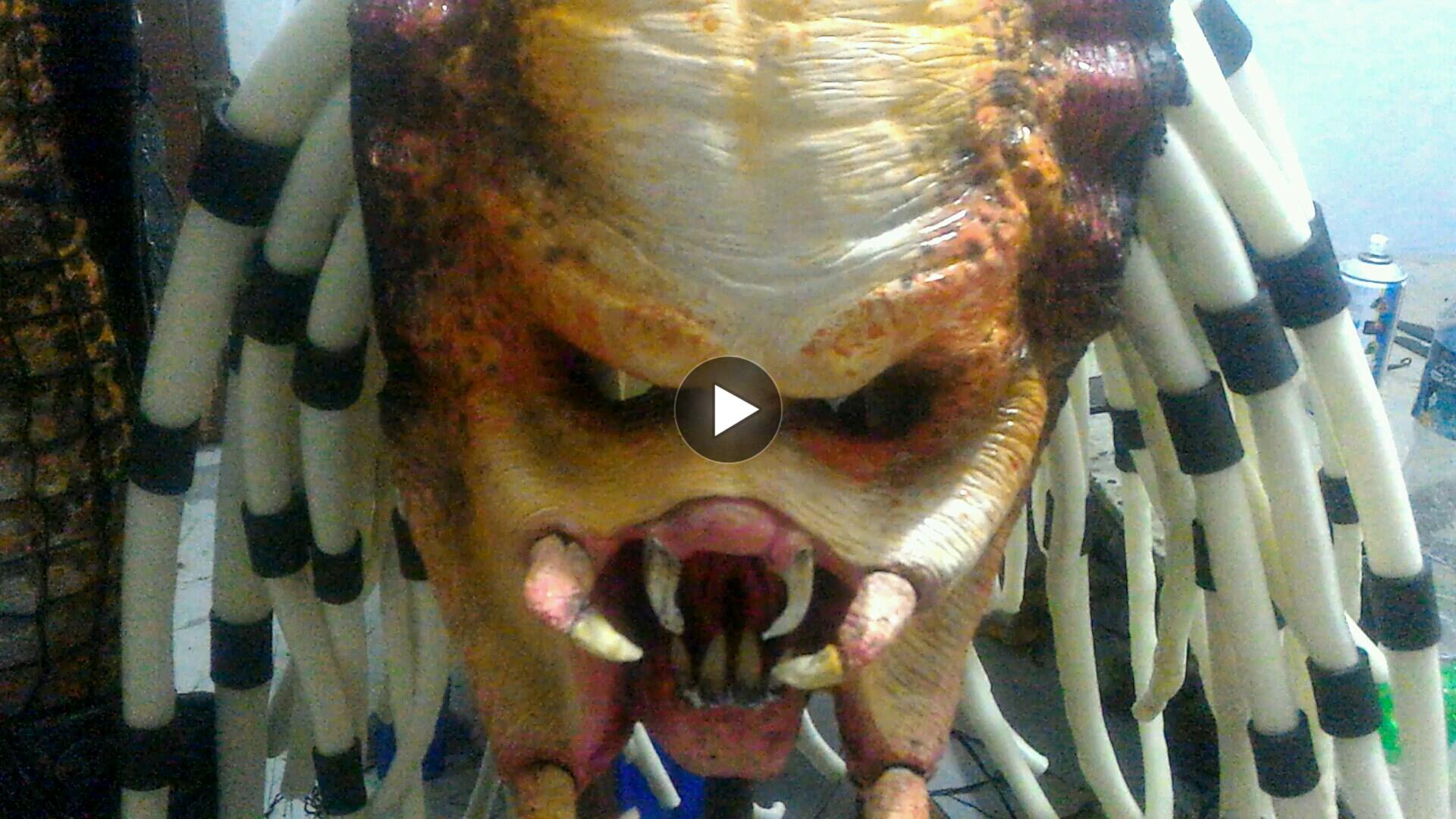 Making predator costume